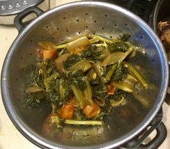 Removed the vegetables and herbs
